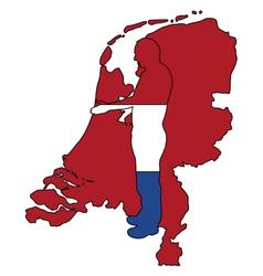 Dutch Handshake vector image vector image