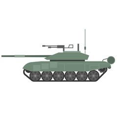 Tank t90 flat design vector