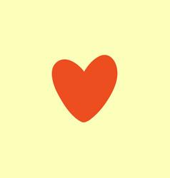 Valentine heart simbol vector