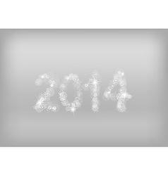 christmass background 2014 vector image
