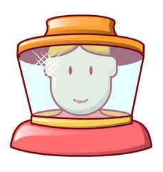 bee keeper icon cartoon style vector image