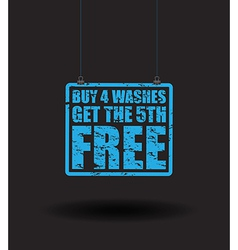 car washes vector image