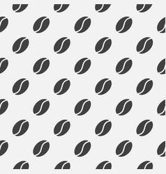 coffee seamless pattern made with coffee vector image