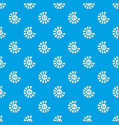Sign 85 load pattern seamless blue vector