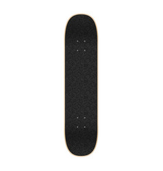 Skateboard top view template for your design vector