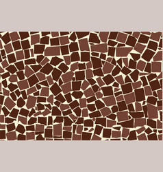 Texture of brown two colored asymmetric vector