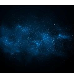 Milky Way vector image