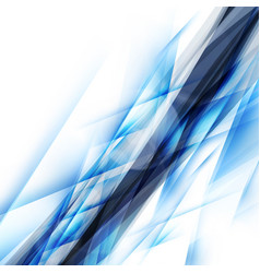 abstract blue background futuristic design vector image