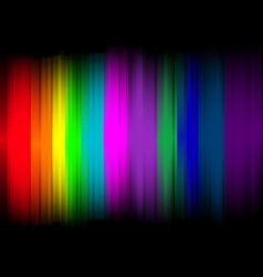 Abstract lights with colorful background vector
