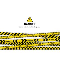 Danger website page vector