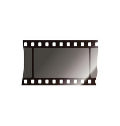 film strip realistic vector image