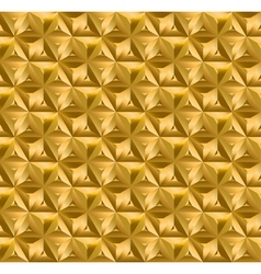 Geometry gold seamless pattern vector