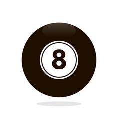 Magic 8 ball vector