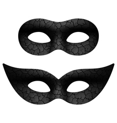 Masquerade eye mask vector image