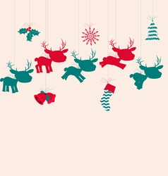 Merry christmas navidad vector