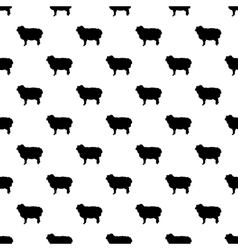 Ram pattern seamless vector image