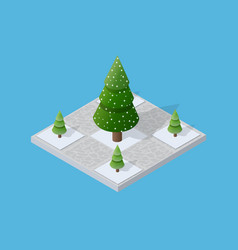 Set of snow snowbound vector