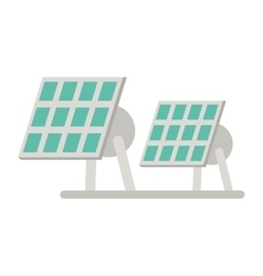 Solar panel renewable energy alternative vector