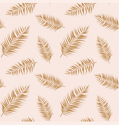 tropical seamless pattern exotic stylized vector image