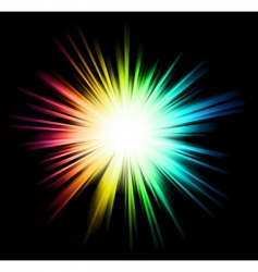 light sparkle vector image vector image