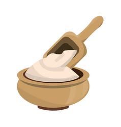 massage cream spa vector image vector image