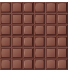 Chocolate bar seamless vector image