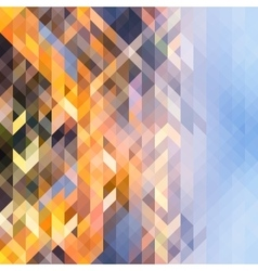 abstract multicolored background triangles vector image