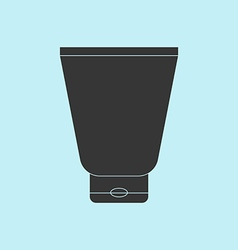 Cream Tube Icon vector image