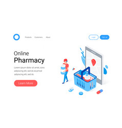 Modern pharmacy and drugstore concept vector