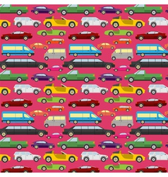 Passenger car background vector