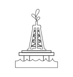 Petroleum and gasoline industry design vector