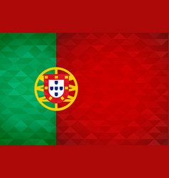 portugal country flag portuguese nation vector image