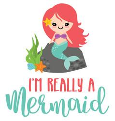 Really a mermaid phrase vector