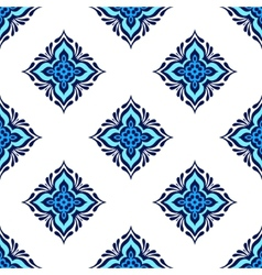 Seamless tiled pattern design vector