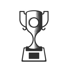 cup winner icon vector image vector image