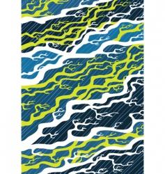 japan pattern vector image vector image