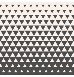 Triangles Vintage HalfTone Gradient Geometric vector image vector image