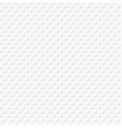 Geometric pattern seamless white texture vector