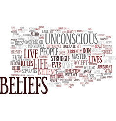 Are you trapped by old beliefs text background vector