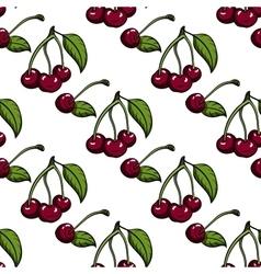 CherryPattern2 vector image
