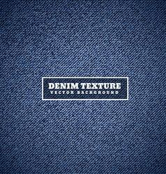 Denim texture in blue vector