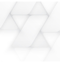 Design with triangles on the grey vector