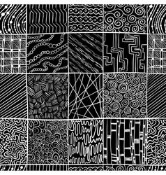dzen doodle vector image