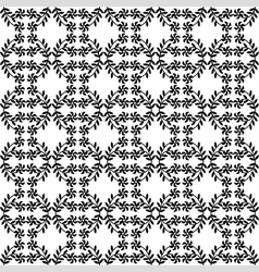 flower branch pattern vector image