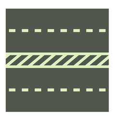 Highway icon cartoon style vector