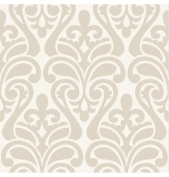 Ikat Damask Seamless Background Pattern vector