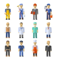 Profession People Set vector