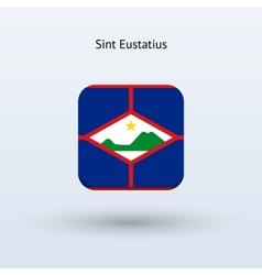 Sint Eustatius flag icon vector image