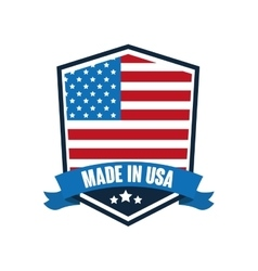 USA design American icon Flat vector image