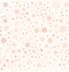 Rose flower pattern seamless vector